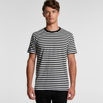 MENS STAPLE STRIPE TEE - 5028